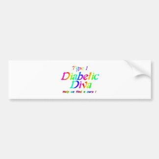 Type 1 Rainbow Bumper Sticker