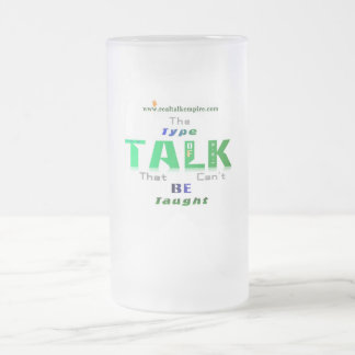 type - glass frosted glass mug