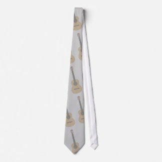 Type image Classical Acoustic Guitar Tie