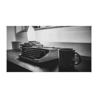 Type Writer Canvas Print