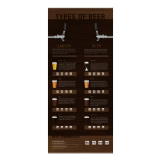 Types of Beer Poster