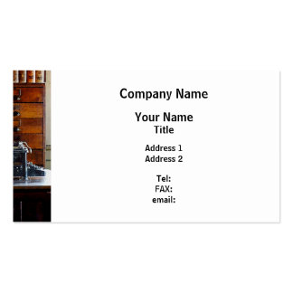 Typewriter Pack Of Standard Business Cards