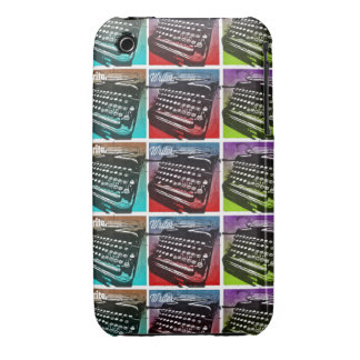 Typewriter Cool Pop Art for Writers and Authors iPhone 3 Case-Mate Case