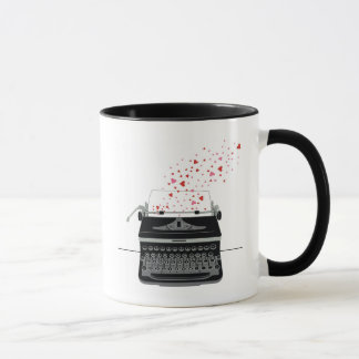 Typewriter Love - Mug