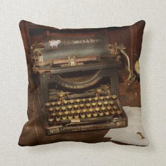 Typewriter - My bosses office Cushion