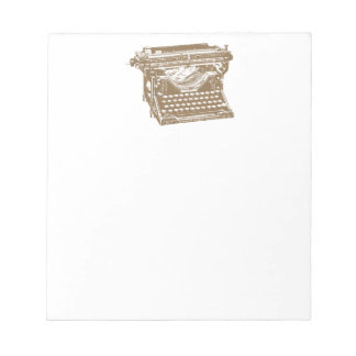 Typewriter Notepad