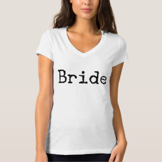 typewriter old fashioned bride bridal T-Shirt