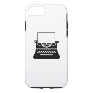 Typewriter Pictogram iPhone 7 Case