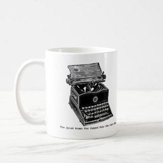 Typewriter, The Quick Brown Fox... Coffee Mug