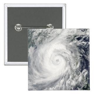 Typhoon Megi 2 15 Cm Square Badge