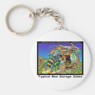 Typical Bee Garage Sales Funny Gifts & Tees Key Chains