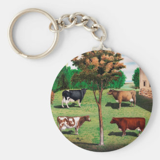 Typical Cows Key Ring
