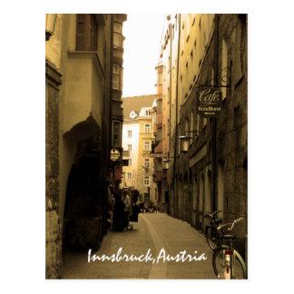 Typical European Alley Postcard