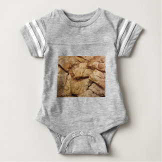Typical italian carnival sweets baby bodysuit