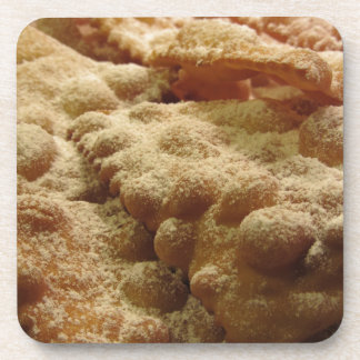 Typical italian carnival sweets coaster