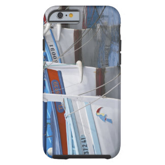 Typical Provencal fishing boats painted in 2 Tough iPhone 6 Case