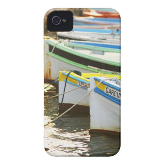 Typical Provencal fishing boats painted in Blackberry Case