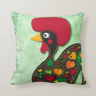 Typical Rooster of Barcelos pillow