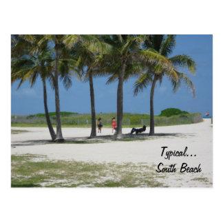 Typical...South Beach Postcard