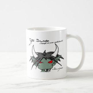 Typo Demon Mug: Spellcheck