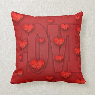 Typo Love Pillow Cushions
