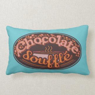 "Typo Pillow ""Chocolate Soufflé"""