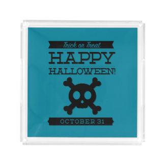 Typographic retro Halloween
