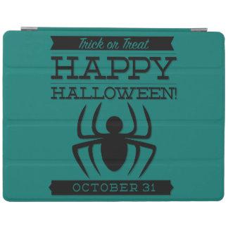 Typographic retro Halloween iPad Cover