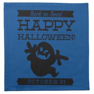 Typographic retro Halloween Napkin