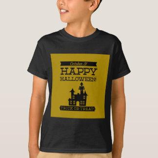 Typographic retro Halloween T-Shirt