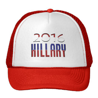 Typography Election Hillary Clinton 2016 Cap