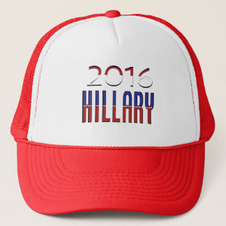 Typography Election Hillary Clinton 2016 Trucker Hat