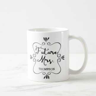 Typography Future Mrs Coffee Mug