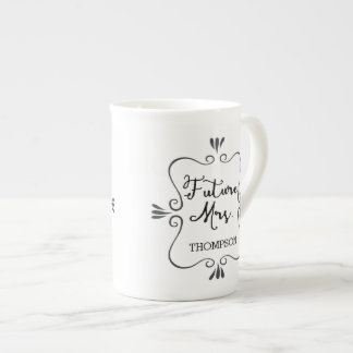 Typography Future Mrs Tea Cup