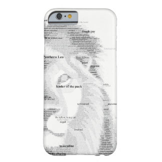 Typography Lion iPhone 6/6s Case