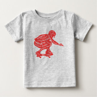 Typography - Skateboarding Baby Clothes Baby T-Shirt