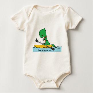 tyran no oar us baby bodysuit