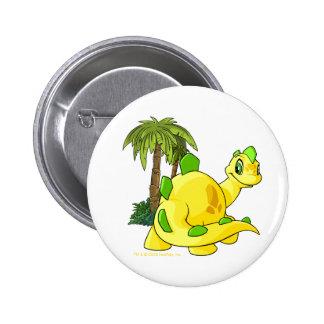 Tyrannian  yellow Chomby gazing 6 Cm Round Badge
