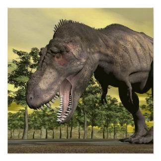 Tyrannosaurus angry - 3D render