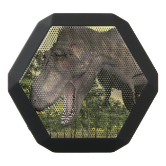 Tyrannosaurus angry - 3D render Black Bluetooth Speaker
