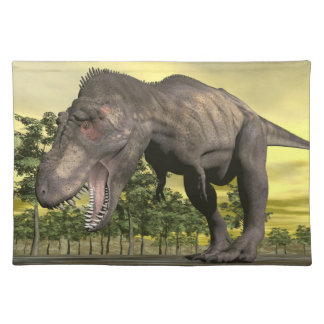 Tyrannosaurus angry - 3D render Placemat