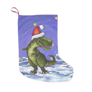 Tyrannosaurus Christmas Small Christmas Stocking