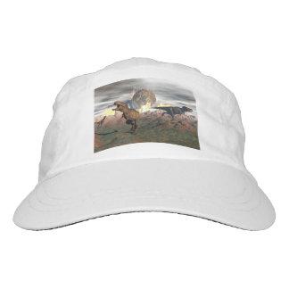 Tyrannosaurus dinosaur exctinction - 3D render Hat