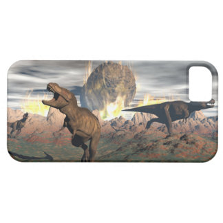 Tyrannosaurus dinosaur exctinction - 3D render iPhone 5 Covers