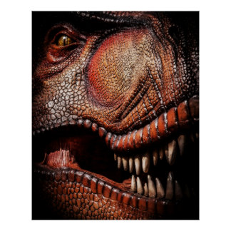 Tyrannosaurus Dinosaur Poster