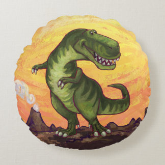 Tyrannosaurus Gifts & Accessories Round Cushion