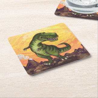 Tyrannosaurus Gifts & Accessories Square Paper Coaster