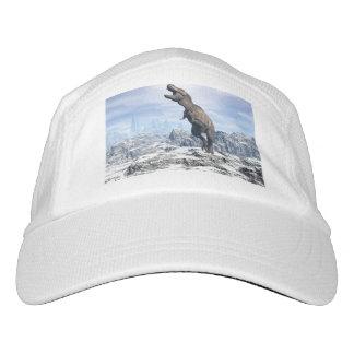 Tyrannosaurus in the snow - 3D render Hat