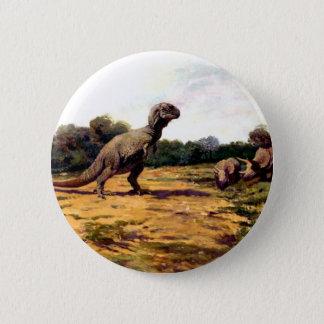 tyrannosaurus rex 6 cm round badge