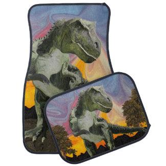 Tyrannosaurus Rex at the Twilight Hour Car Mat